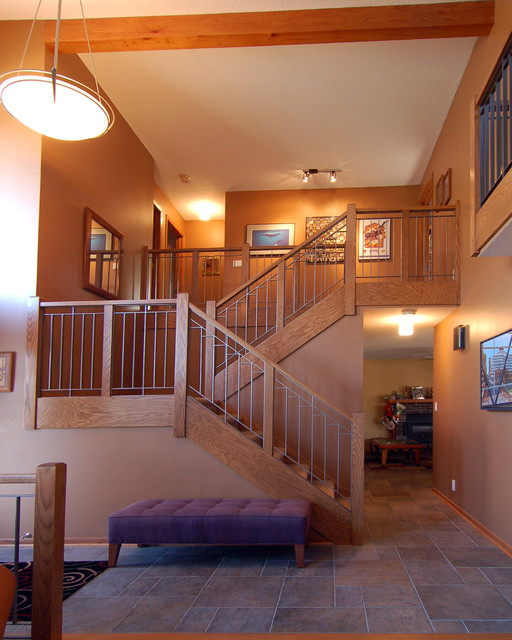Prairie Staircase contemporary-staircase