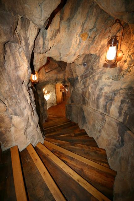Priest Creek rustic-staircase