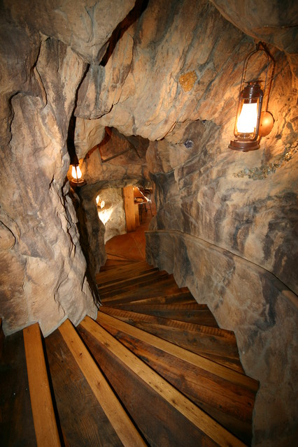 Priest Creek Rustic Staircase Denver By Amaron