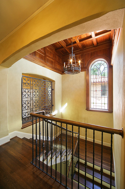 Princeton House Mediterranean Staircase Dallas By