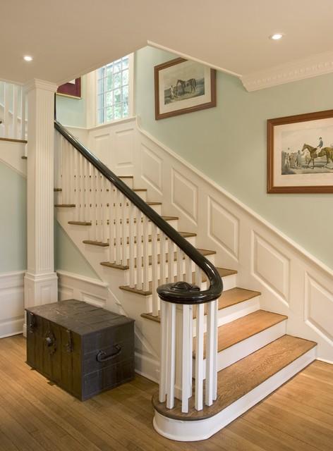Amazing Princeton Restoration Traditional Staircase