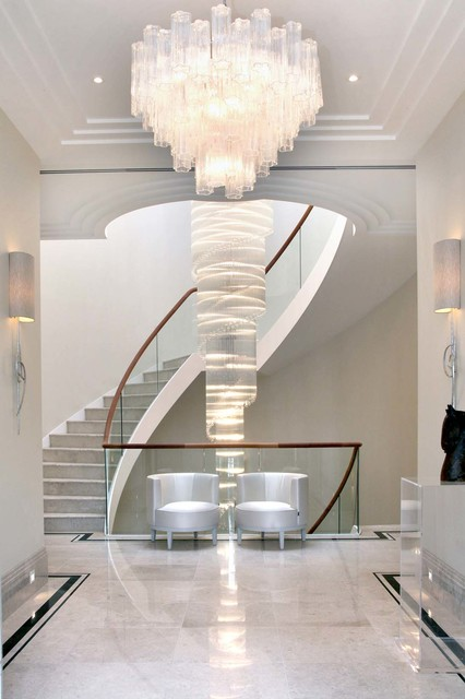 Private House contemporary-staircase