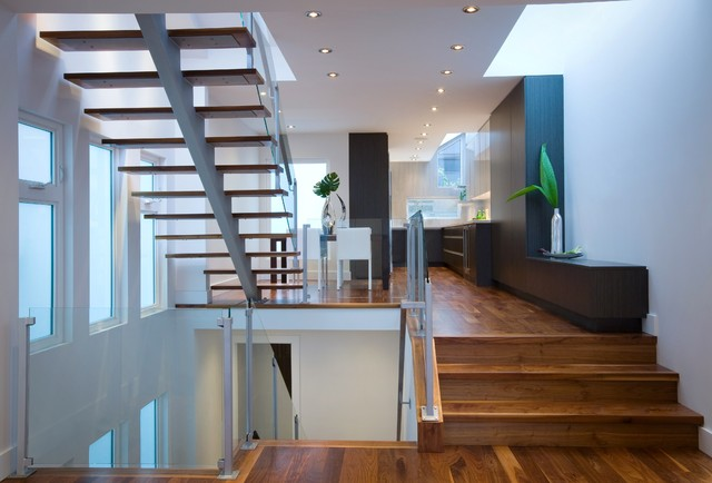 Private Party contemporary staircase