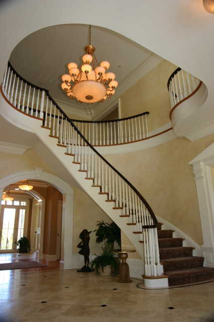 Private Residence 2 traditional-staircase