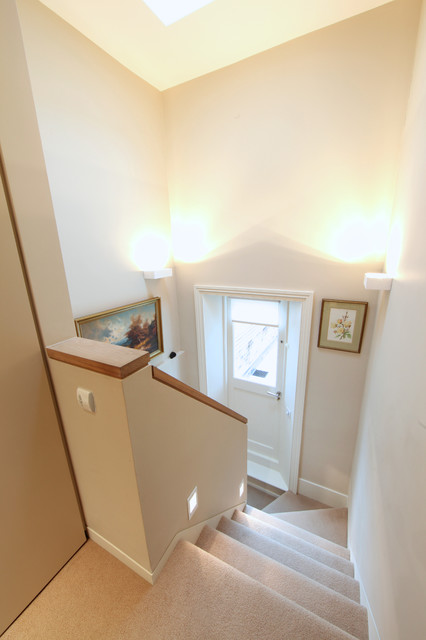 Private Residential - Notting Hill, London area contemporary-staircase