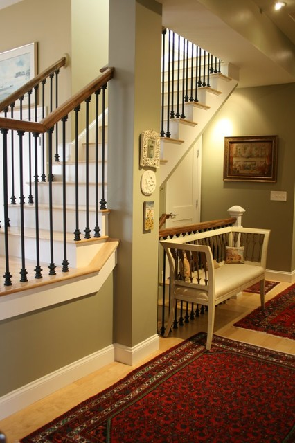 Private Townhouse traditional-staircase