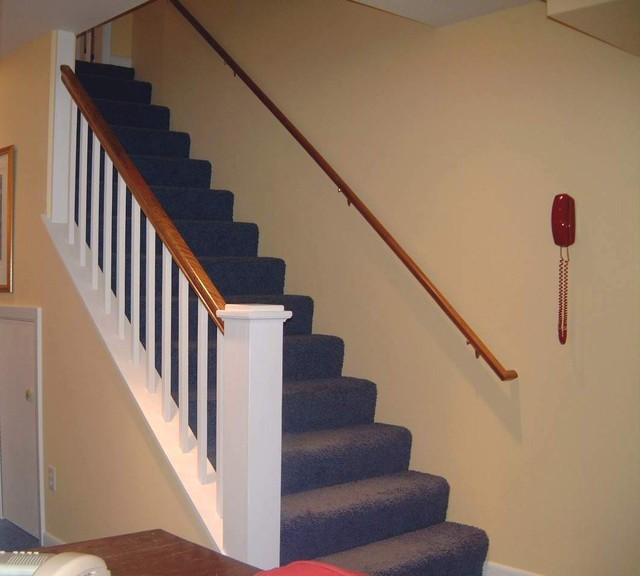 Project 1068 basement traditional-staircase