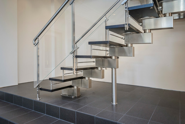 Pullman rd staircase installation contemporary staircase san francisco by european - Pullman kitchen design ...