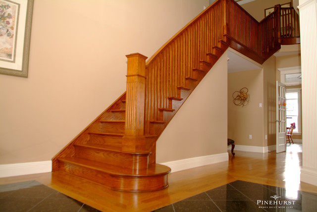 Purcells Cove Showhome traditional-staircase