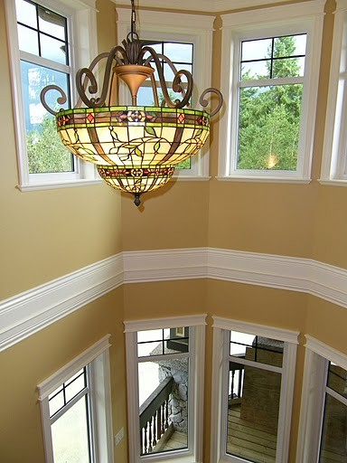 traditional staircase by Reflections Interior Designs