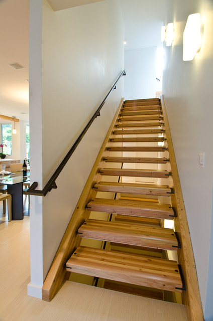 Queen Anne Residence Contemporary Staircase Seattle