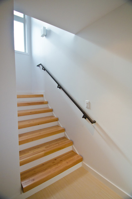 Queen Anne Residence contemporary-staircase