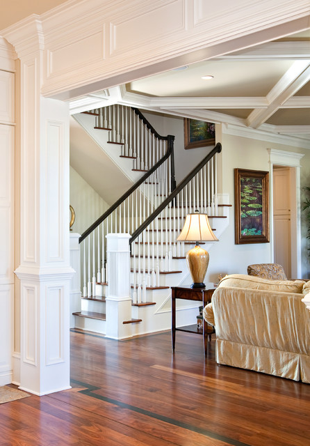 Quinlan Residence traditional-staircase