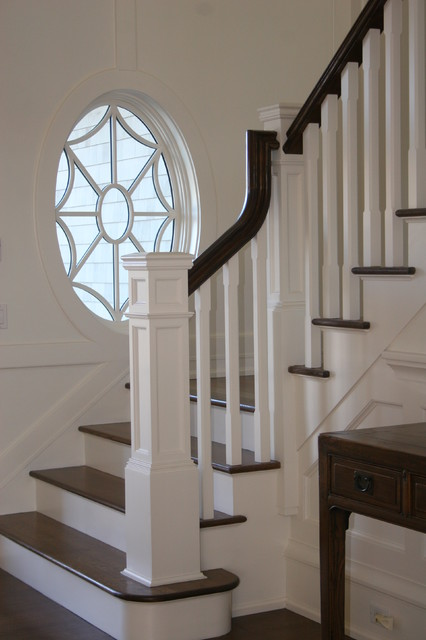 Quogue Residence traditional staircase