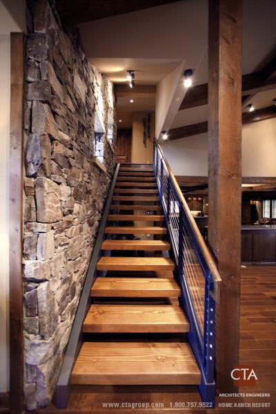Rack House Exterior contemporary-staircase