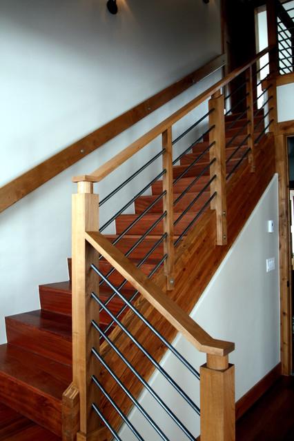 Rustic Mountian Stair Railings: Railing Detail For Mountain Homes