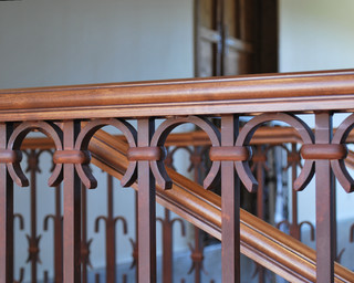 Railing Detail - Traditional - Staircase - phoenix - by Grizzly Iron, Inc