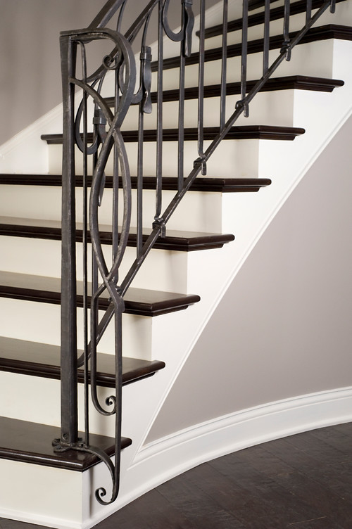 Are Stair Treads Painted Or Stained? TY