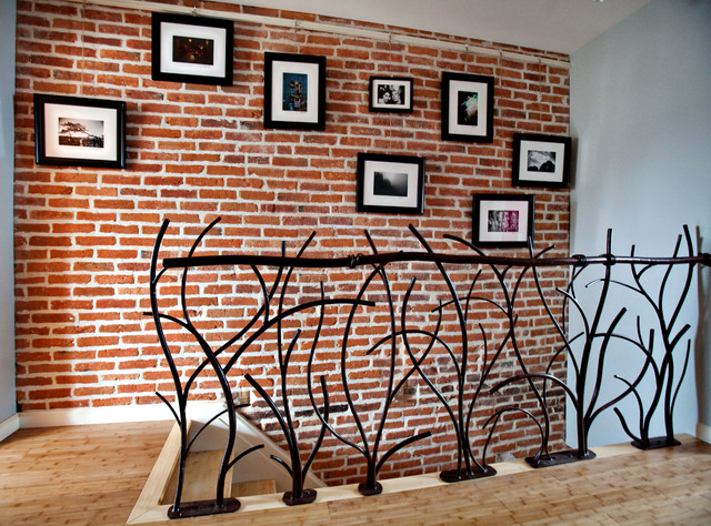 Railings - Eclectic - Staircase - baltimore - by Elemental Metalworks