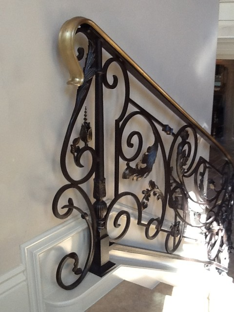 railings mediterranean-staircase