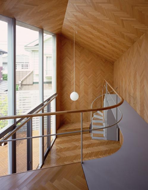Rainy Sunny contemporary-staircase