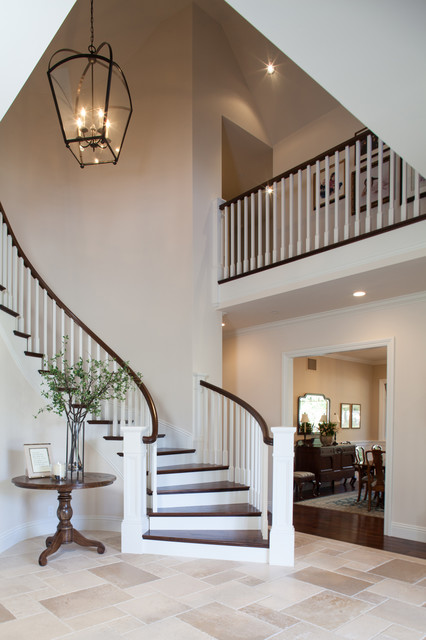 Ranch style Ranch style staircase