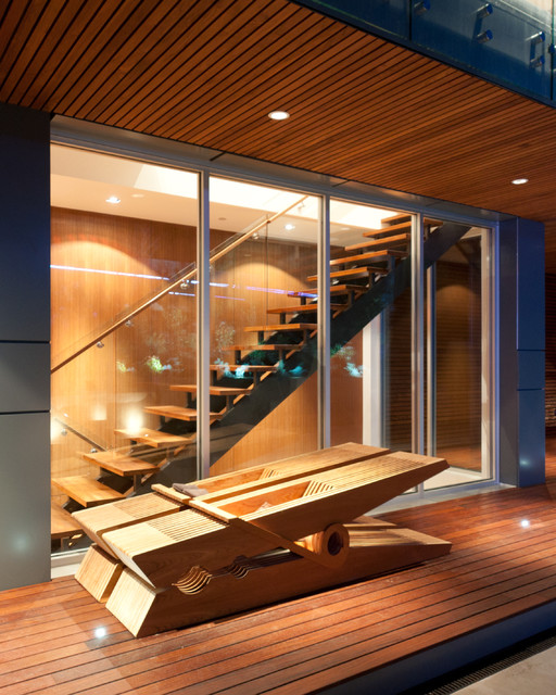 7 Ultra Modern Staircases: Contemporary