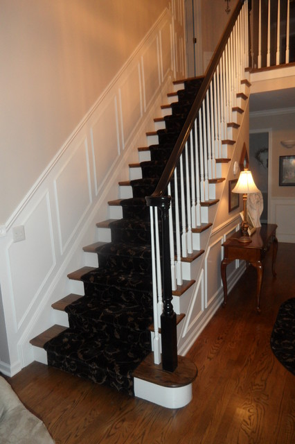 Foyer Staircase Questions : Redo of foyer staircase