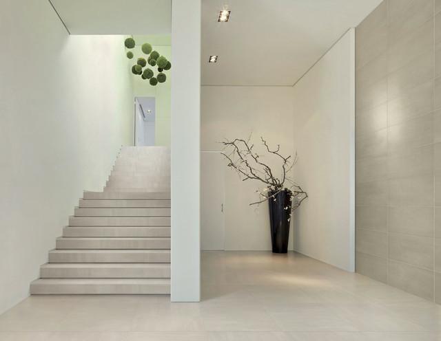 Refin Chromie Porcelain From Royal Stone Amp Tile Modern Staircase