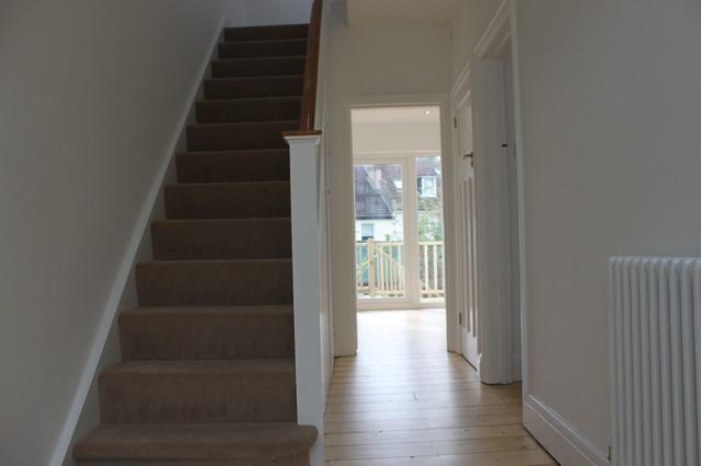 Refurbishment of 1930s semi traditional staircase for Bathroom ideas 1930s semi