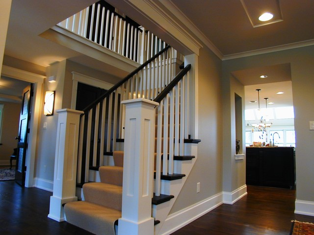 Extreme home makeover 1 transitional staircase for Extreme home designs