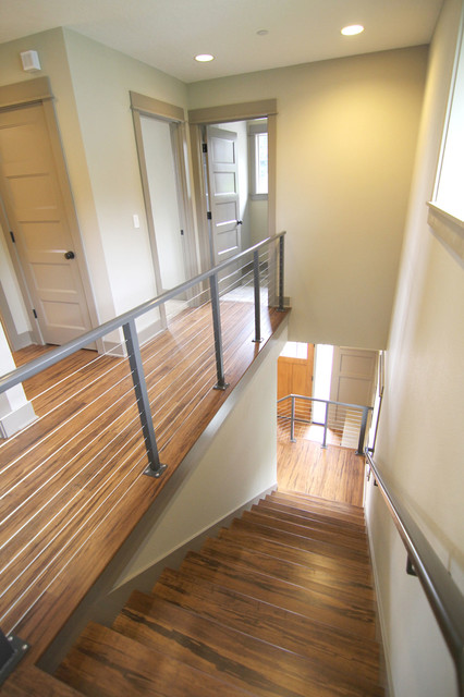 Renaissance Homes' Cleary Custom contemporary-staircase