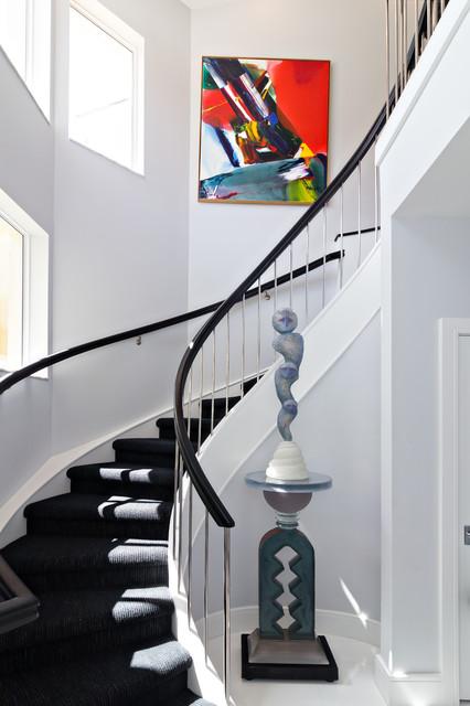 Renovation Admirals Cove Condo contemporary-staircase