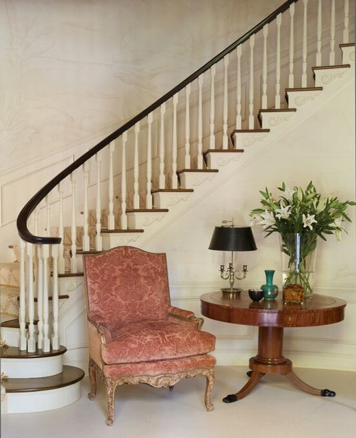Renovation of a Paul Williams Residence traditional-staircase