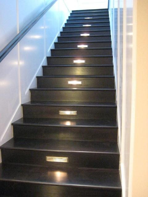 Residential Lighting modern-staircase