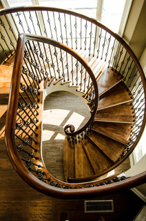 Residential Longport NJ Traditional Staircase