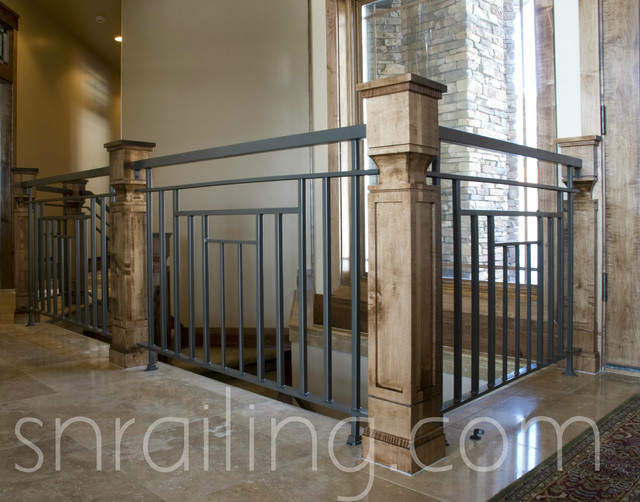 Residential Railings Traditional Staircase Salt Lake