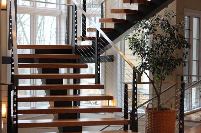 Residential Staircase Modern Philadelphia