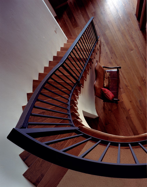 Ritz Residence - Rustic - Staircase - Other - by Dubbe Moulder Architects