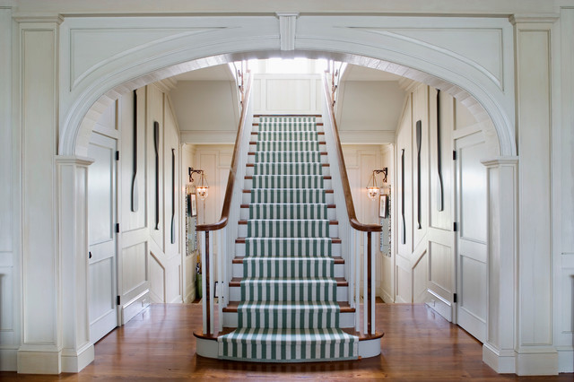 Inspiration For A Timeless Wooden Staircase Remodel In Atlanta