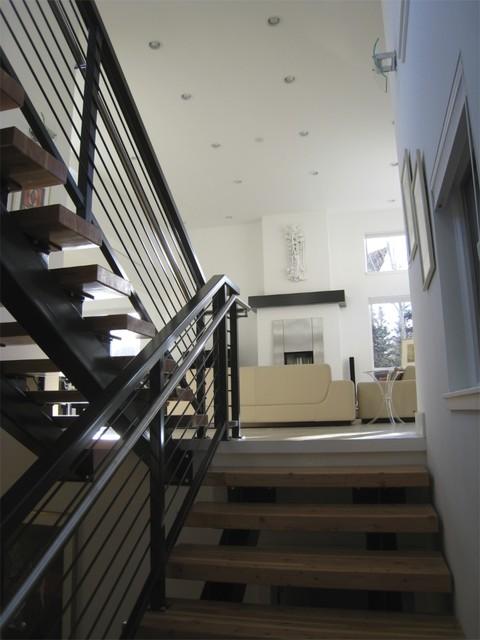 River Trail Interior modern-staircase