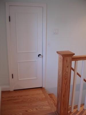 Robinson / Veatch Attic Remodel & Bathroom Dormer contemporary-staircase