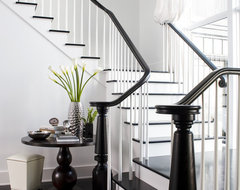 Rocky Ledge Stair contemporary staircase