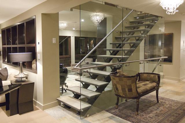 Roseburn Estates Design contemporary-staircase