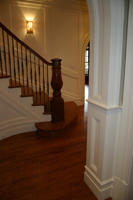 Roseland Drive Project traditional-staircase