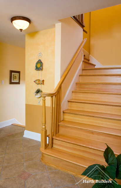 Rosemont Kitchen traditional-staircase