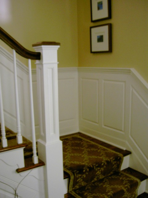 RSG WoodWorks traditional-staircase