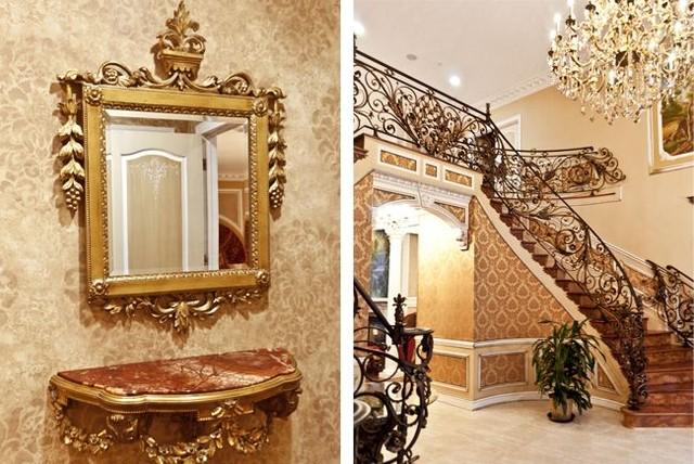 Russian classic villa for Classic villa design
