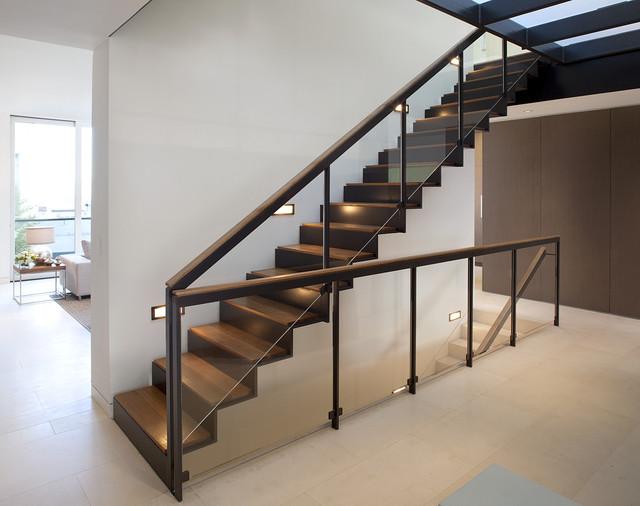 Staircase architecture  Russian Hill - John Maniscalco Architecture