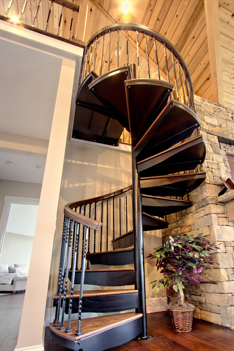 75 Beautiful Spiral Staircase Pictures & Ideas - July, 2021 | Houzz